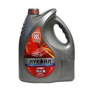 Моторное масло Лукойл СУПЕР 10W40 5 л