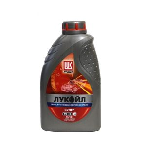 Моторное масло Лукойл СУПЕР 5W40 — 4 лит