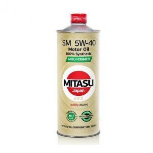 Моторное масло MITASU 5W40 «SM»(MJ-M12) — 1 л
