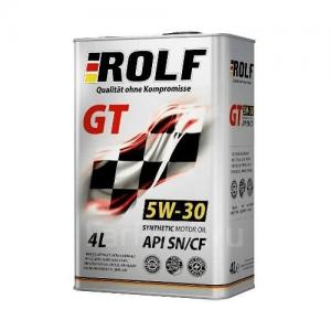 Моторное масло ROLF GT 5W30 — 4 лит