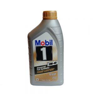 Моторное масло Mobil 0W40 — 1 л