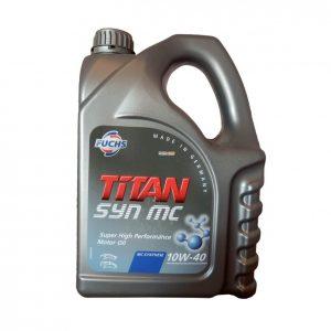 Моторное масло TITAN SynMC 10W40 — 4 л