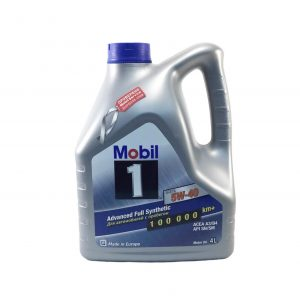 Моторное масло MOBIL 5W40 — 4 л
