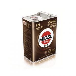 Моторное масло MITASU 0W40 (MJ-104) — 4 л