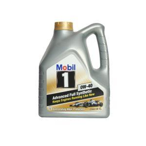 Моторное масло Mobil 0W40 — 4 л