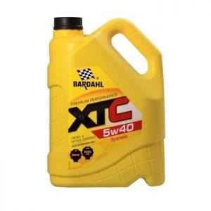 Моторное масло BARDAHL 5W40 — 5 л