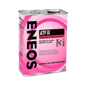 Трансмиссионное масло ENEOS ATF-3 — 4 л