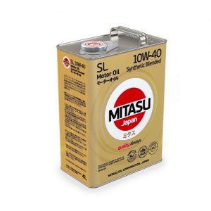 Моторное масло MITASU 10W40 (MJ-124) — 4 л