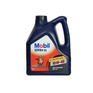 Моторное масло MOBIL 10W40 — 4 л