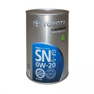 Моторное масло TOYOTA 0W20 SN ( JAPAN) — 1 лит